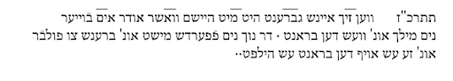 <p>source: <em>A Guide to Old Literary Yiddish</em> By Jerold C. Frakes, p.&nbsp;126</p>