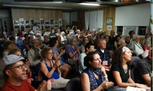 <p>Trip to Yiddishland participants (Dutchess County,&nbsp;2017)</p>