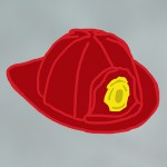 Firefighter Helmet Icon
