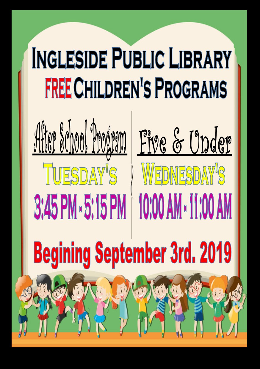 Free Library Programs for Children