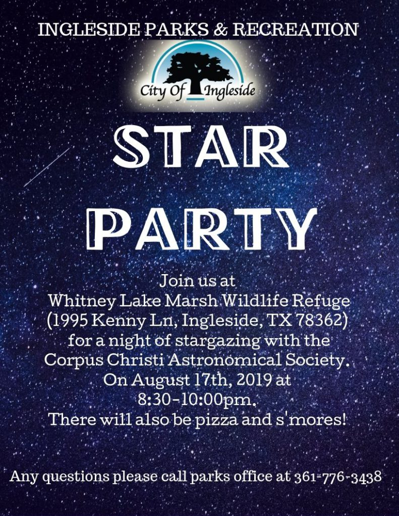 Star Viewing Flyer
