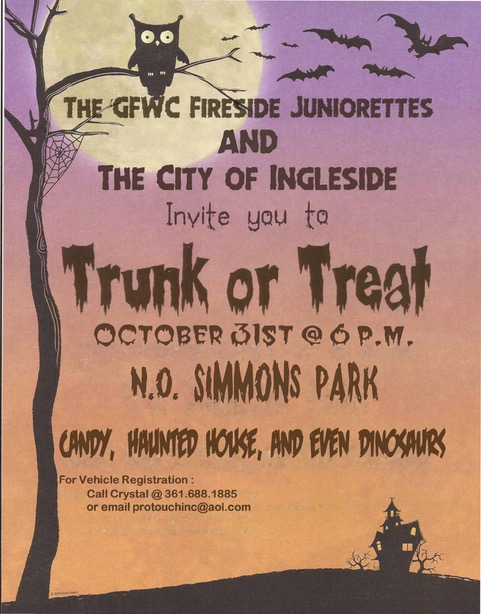 Trunk Or Treat 2019 Flyer