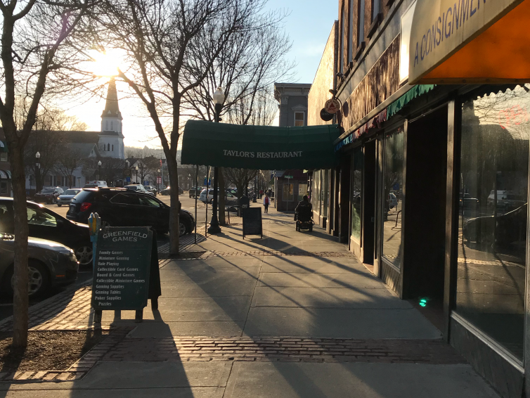 It seems like millenials and seniors are looking for mostly the same stuff in downtown Greenfield.