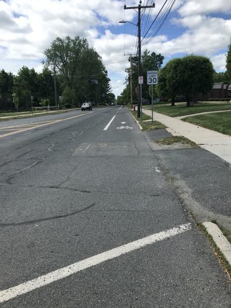 Federal Street bike lane
