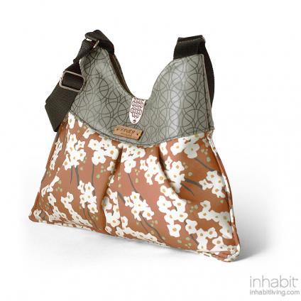Kennedy Flowering Pyrus in Rust Handbag