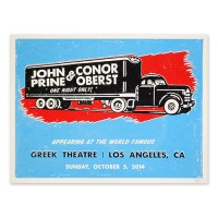 Conor Oberst & John Prine poster