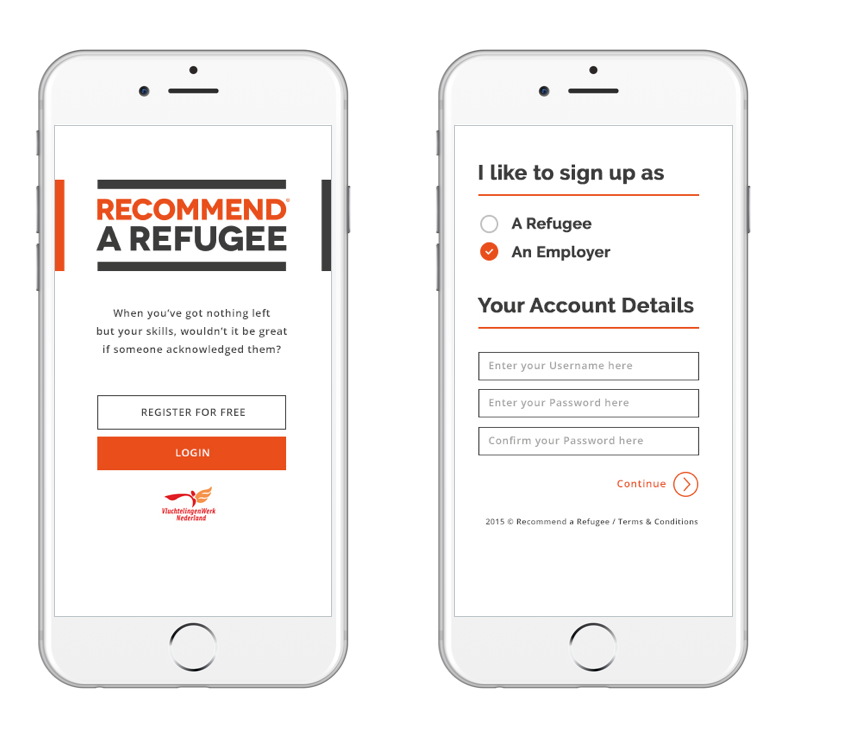 HBL launching the mobile service Recommend a Refugee – A small step for a greater good