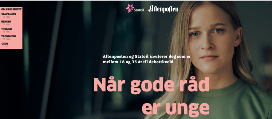 Statoil - When advice is young