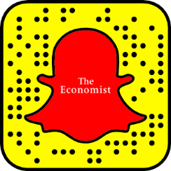 The Economist on Snapchat