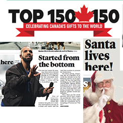 Canada's Top 150 in 150 (Years)