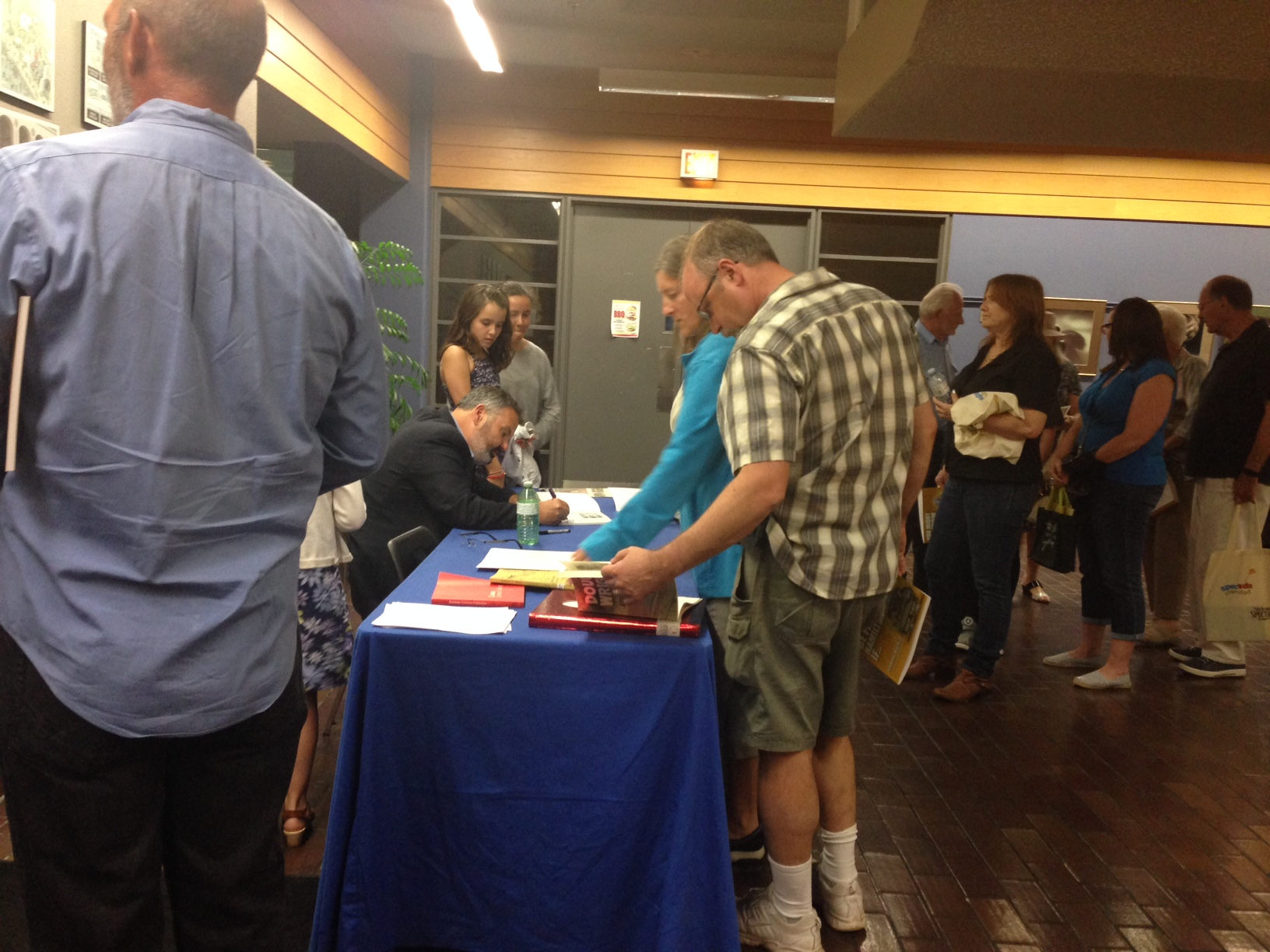 Meet the Writers Event