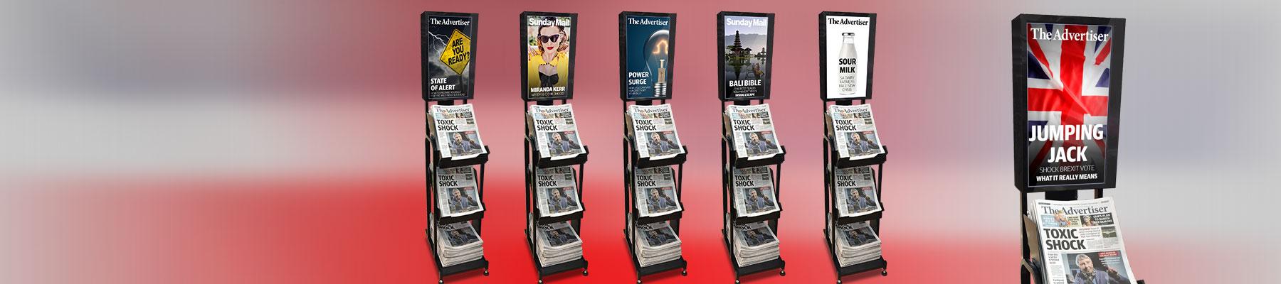 News Corp Australia's Digital Retail Impulse Stands