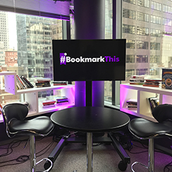 #BookmarkThis – A series of live video chats with bestselling authors