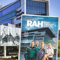 Custom series for new Royal Adelaide Hospital