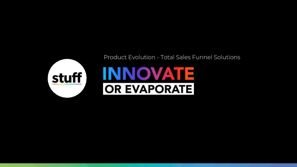 Product Evolution - Total Sales Funnel Solutions