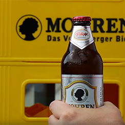 Mohren Brewery – what´s the most creative way to open a beer