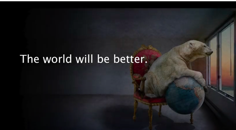 The World Will Be Better