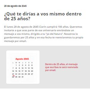 Clarín 75th Anniversary