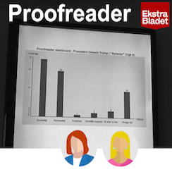Proofreader – a grammatic/linguistic quality tool in newsroom
