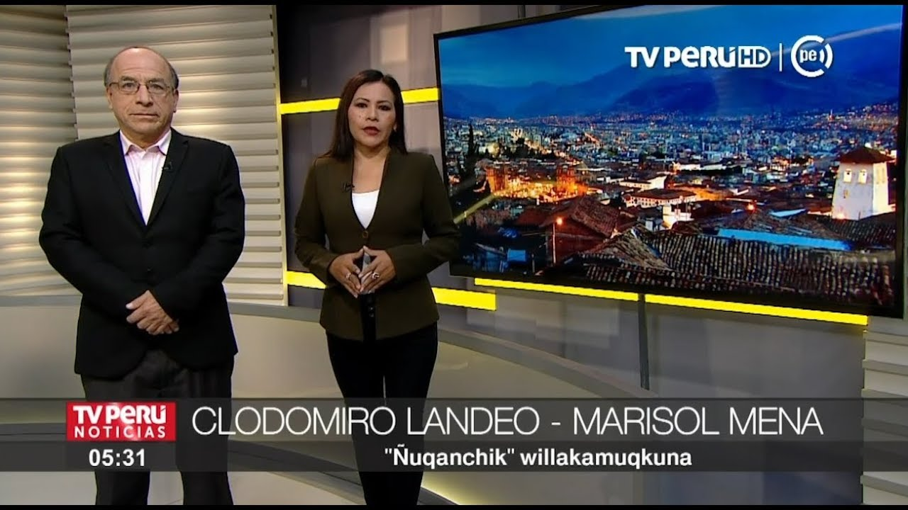 Inma Best Practice Nuqanchik The First Tv News Programme In Quechua In Peru