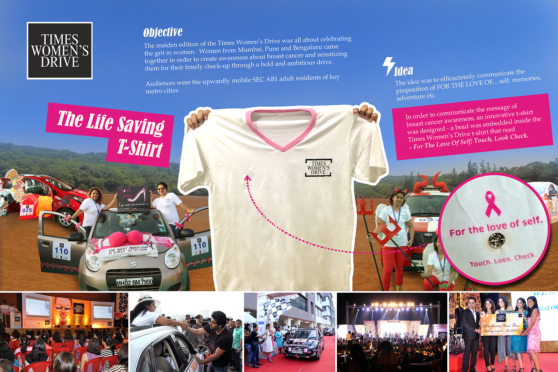 Times Women's Drive - The Life Saving T-Shirt