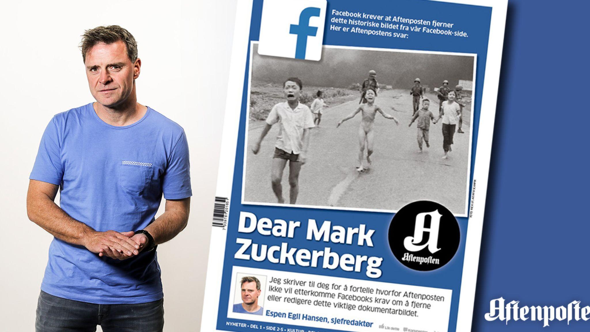 #DearMark: How Aftenposten stood up against Facebook
