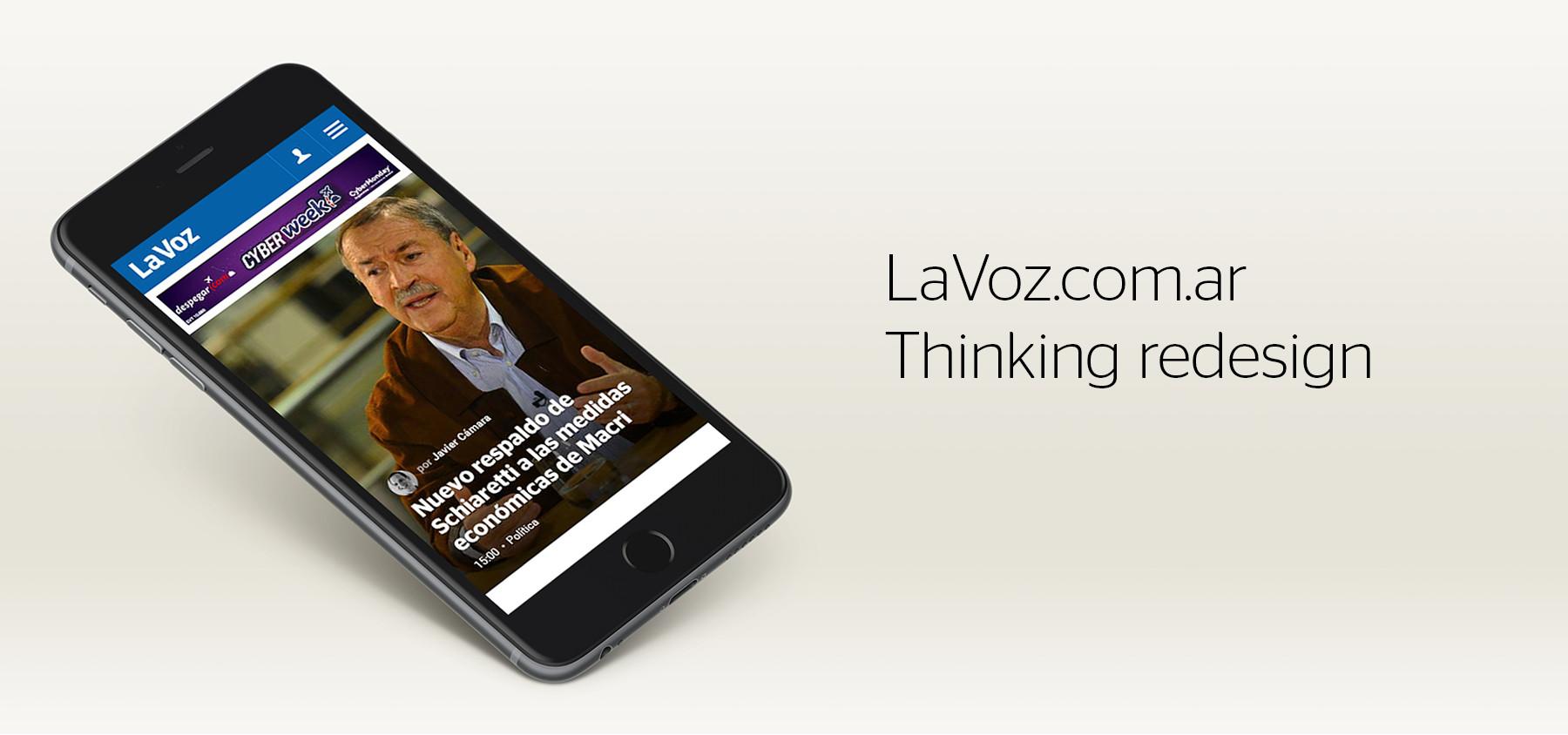 LaVoz.com.ar Redesign
