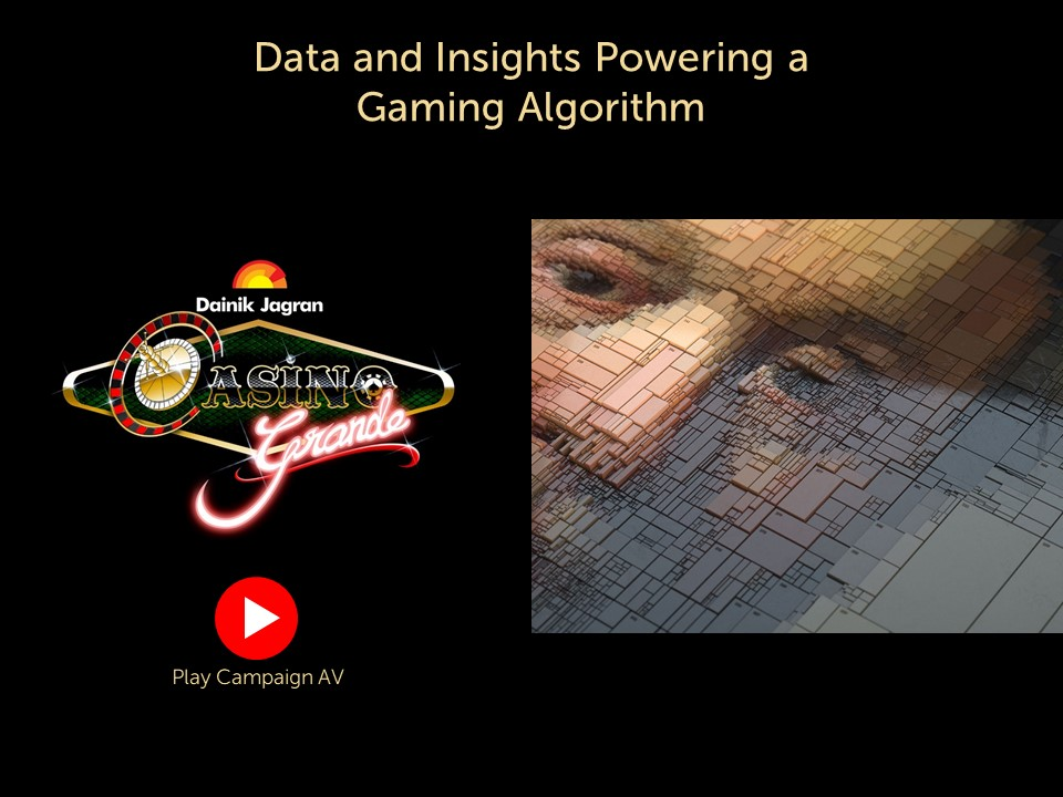 Data powering a Gaming Algorithm to Drive Revenue