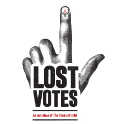 Lost Votes - An Initiative of The Times of India