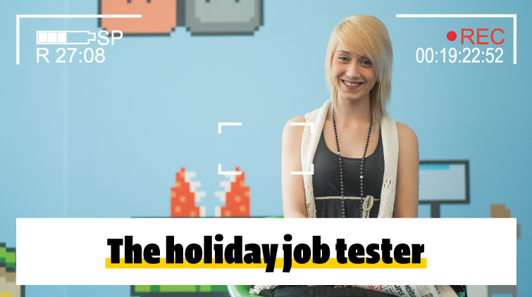 The holiday job tester