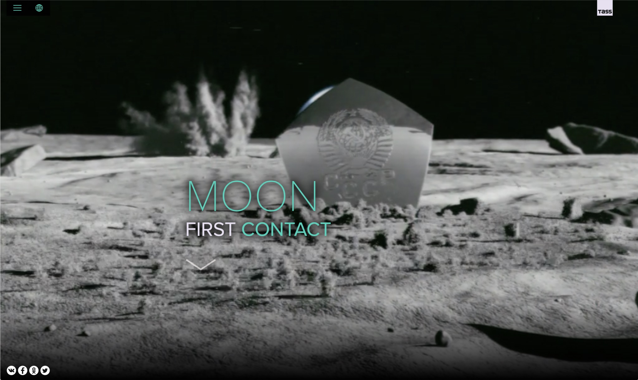 Moon. First contact.