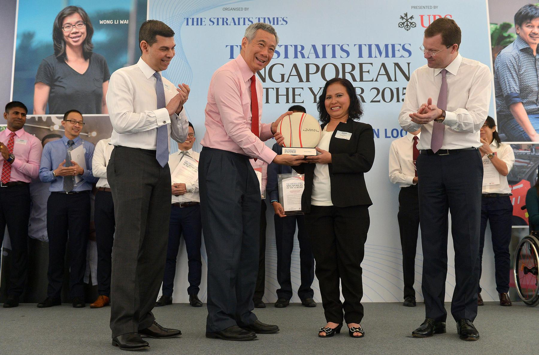 Singaporean of the Year award