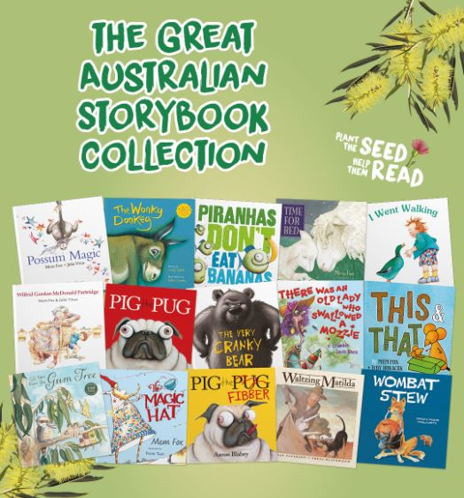 Plant the seed to help them read with, 'The Great Australian Storybook Collection'
