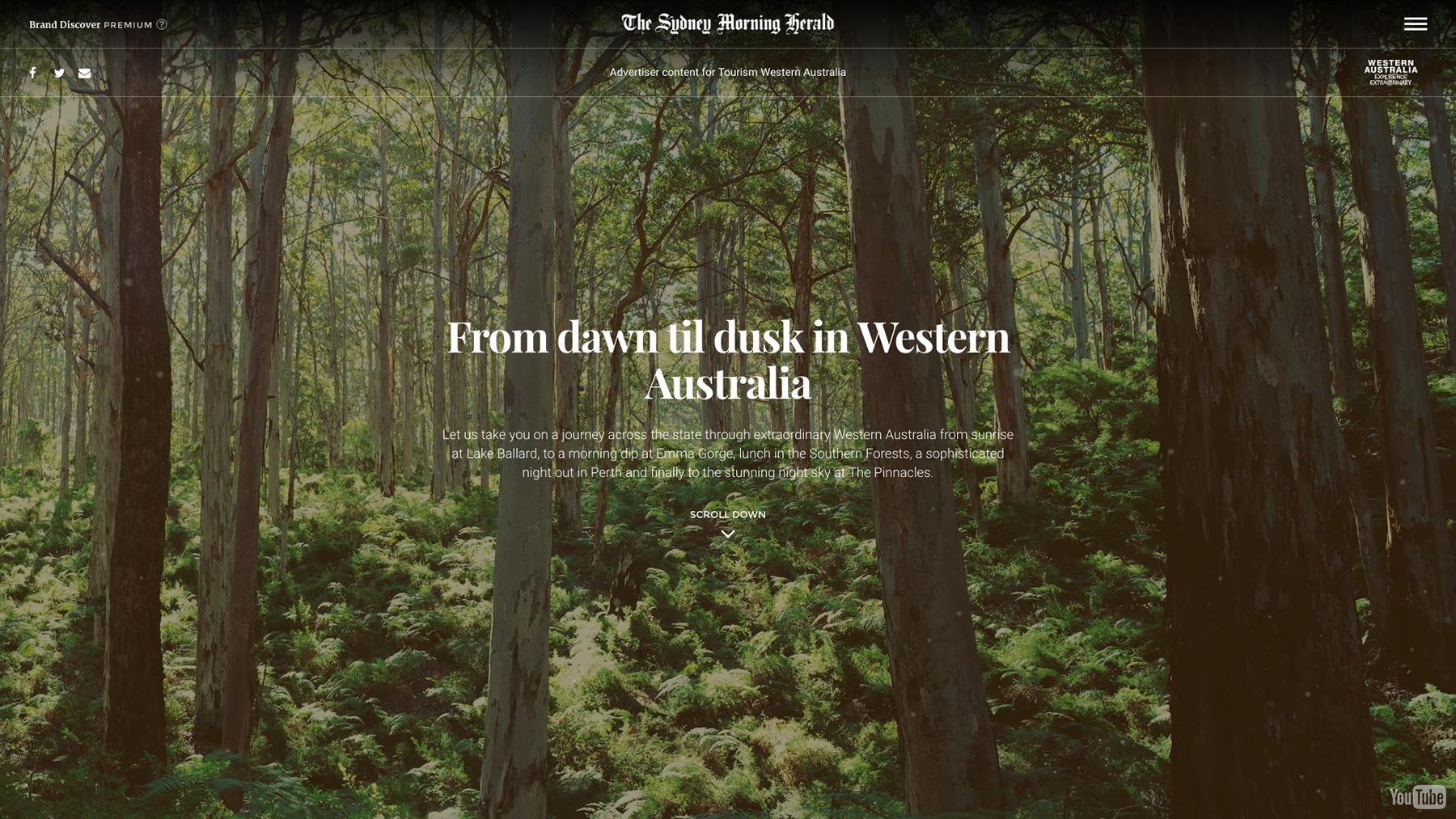 Tourism Western Australia Premium Brand Discover