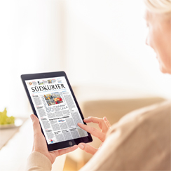 New SÜDKURIER Digital App and Launch Campaign 2017