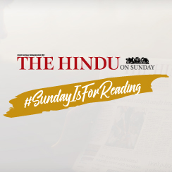 The Hindu on Sunday - #SundayIsForReading