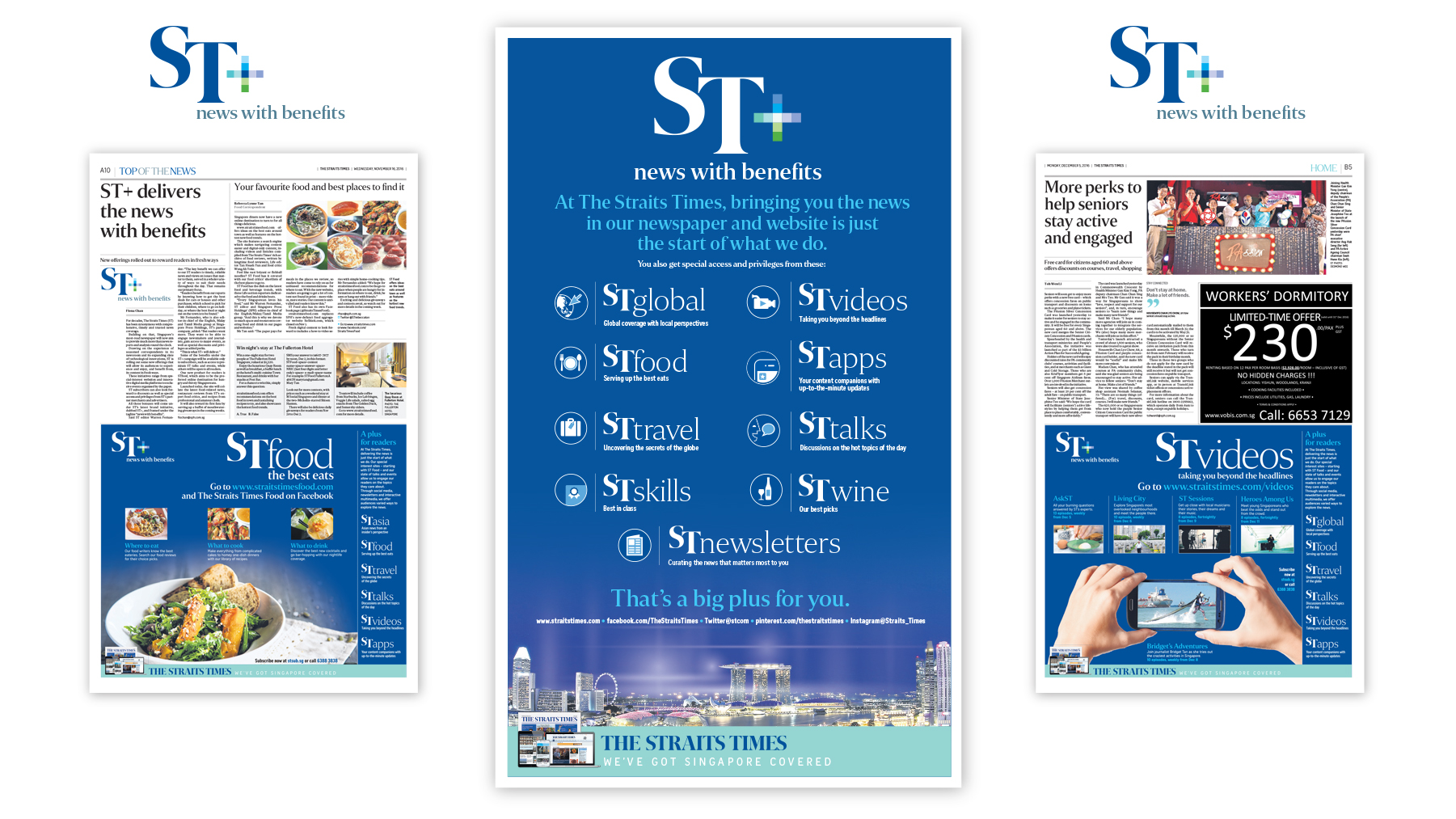 ST +: News with Benefits