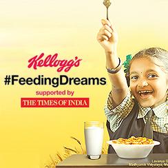 Kellogg's #FeedingDreams