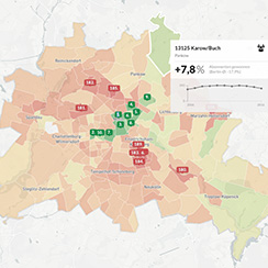 The Berliner Morgenpost Interactive Reader Map – the interdepartmental analysis tool for the newsroom, sales and marketing