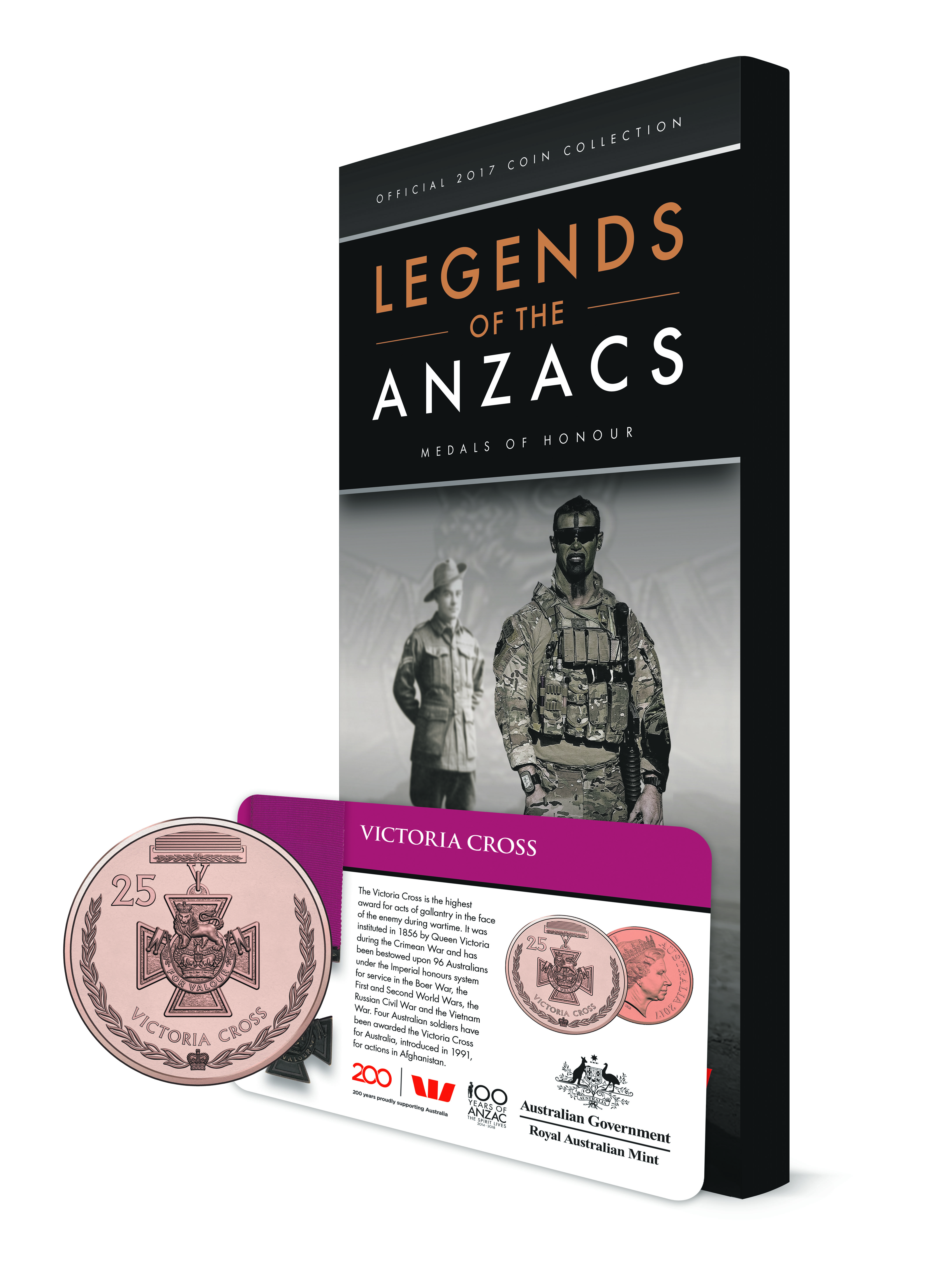 Discover the stories behind the medals - Keeping our military legends alive