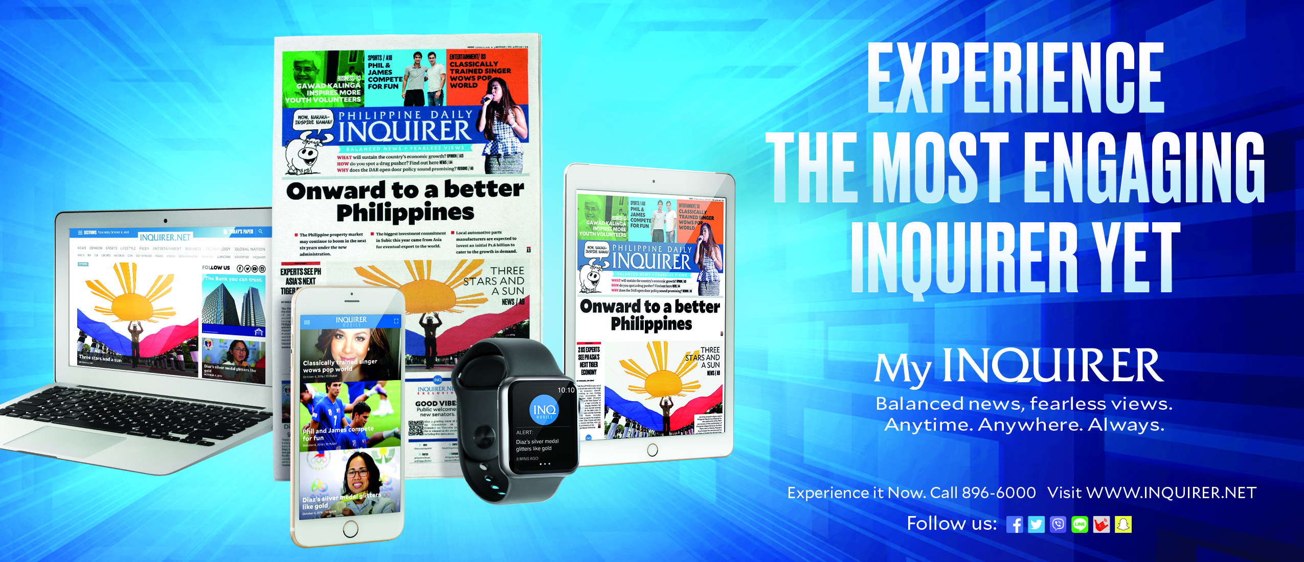 Project OMG: The Most Engaging Inquirer Yet