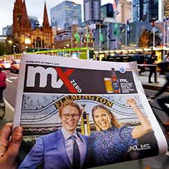 News Corp Victoria & Carlton and United Breweries - mX Zero