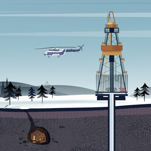 Trip into the depths of Siberia:  Producing oil of the future