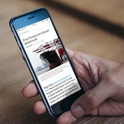 Australian Financial Review Universal App