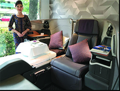 Singapore Airlines Premium Product Showcase