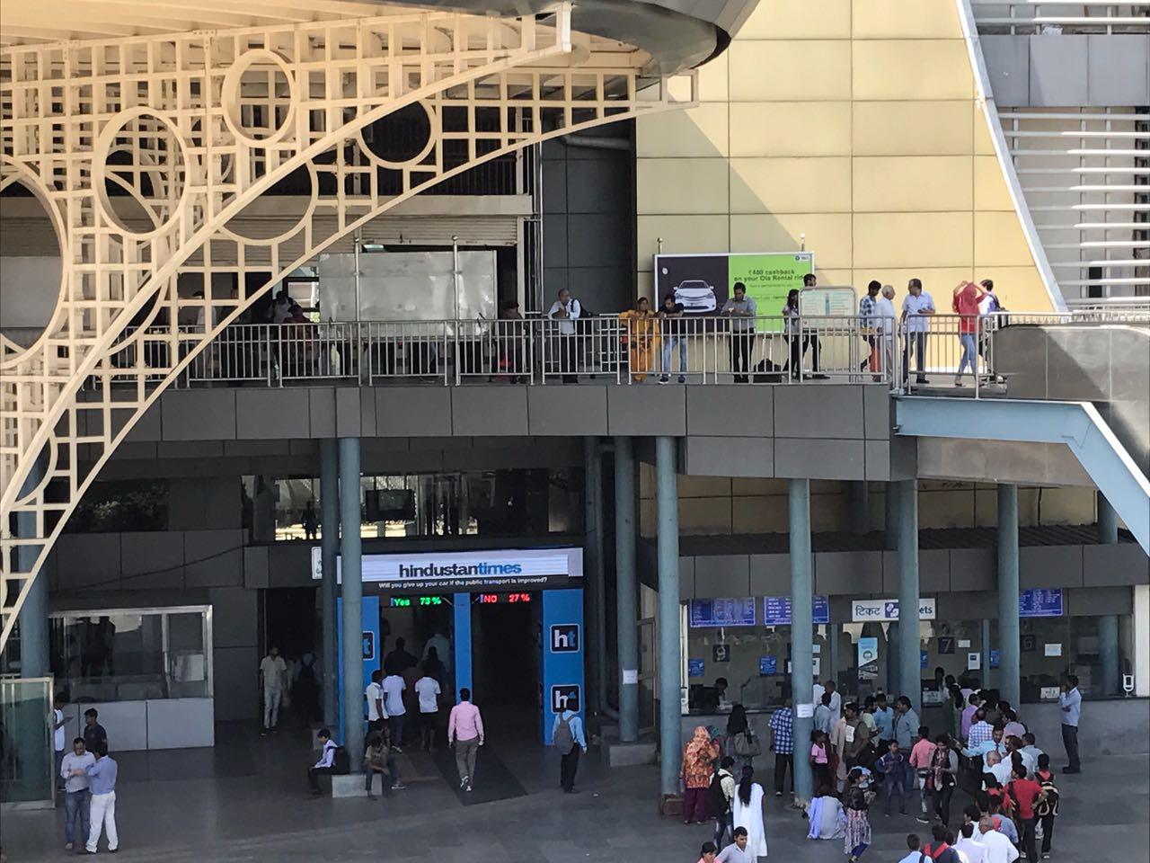 #Metrospeaks outdoor advertising campaign