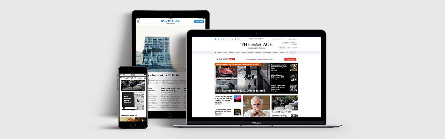 Fairfax Media - Instant Access to Premium Content for Australian Businesses