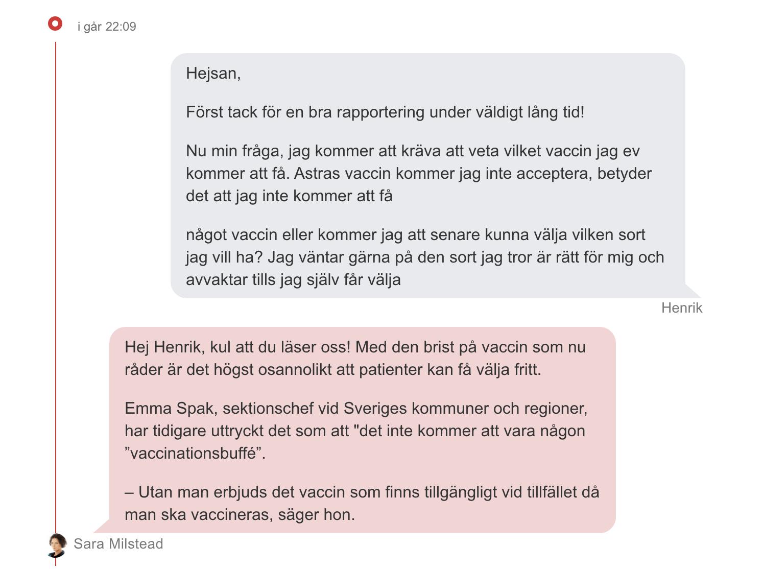 Aftonbladet Live Chat