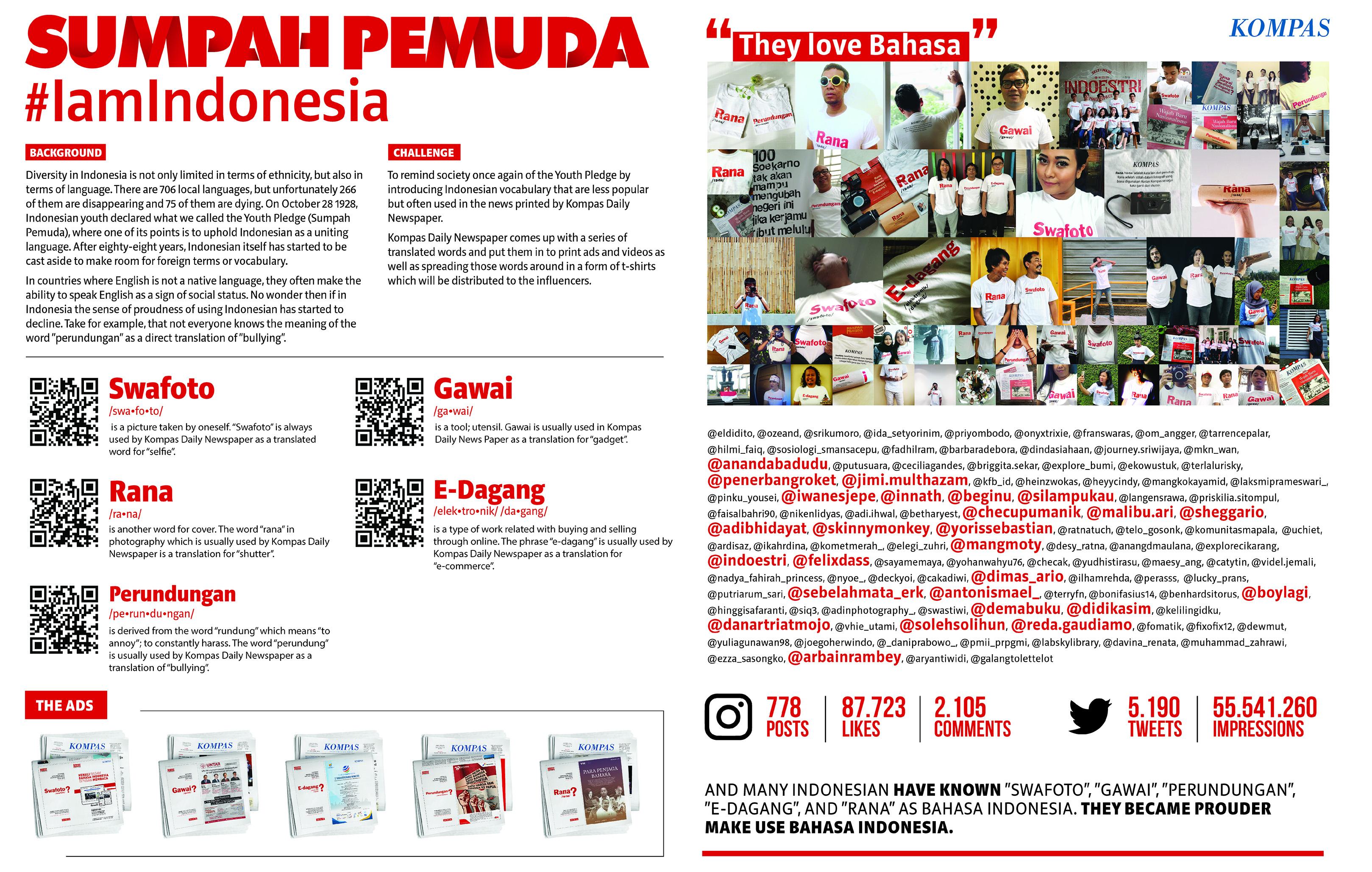 #AkuIndonesia (I am Indonesian)