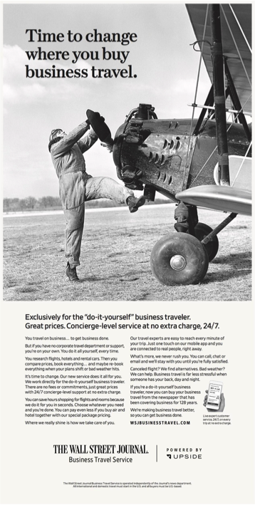 The Wall Street Journal Business Travel Service